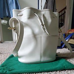 Vintage COACH drawstring bag